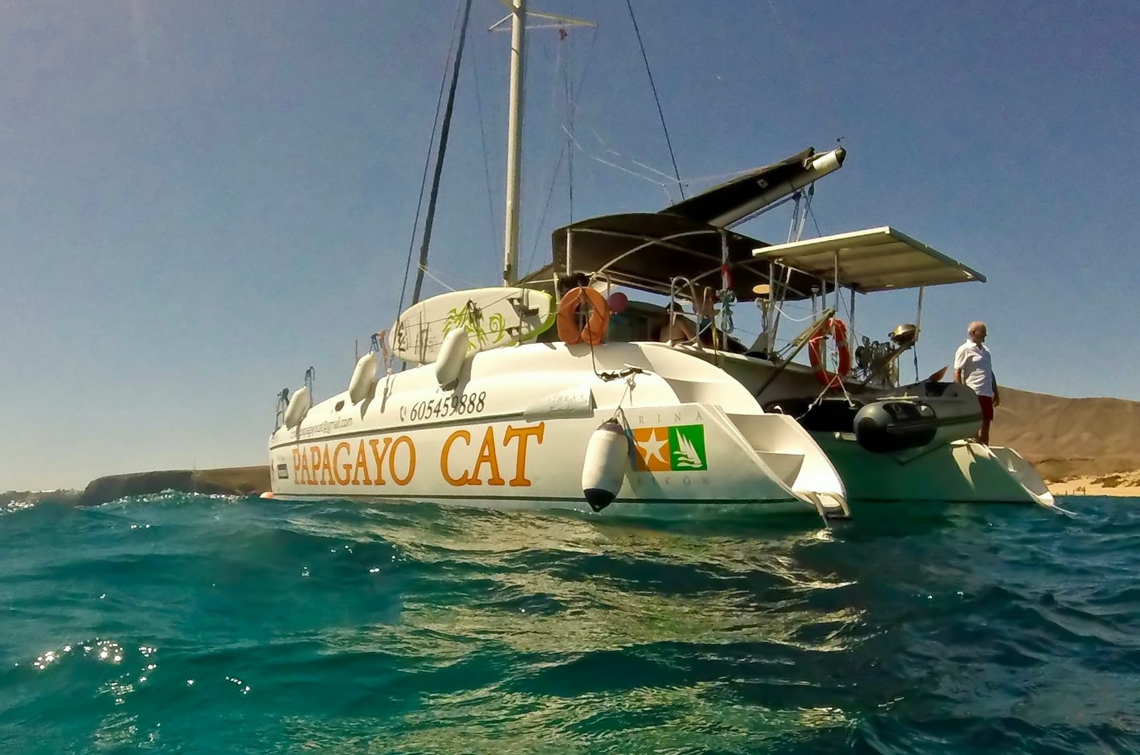 Luxury Catamaran Trips, Lanzarote